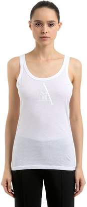Ann Demeulemeester Re Edition Cotton Jersey Tank Top