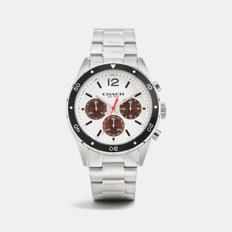 COACH Coach Sullivan Sport Stainless Steel Chrono Bracelet Watch $295 thestylecure.com