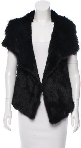 CalypsoCalypso Fur Knit Vest