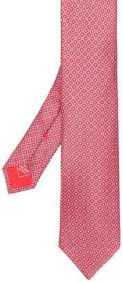 Brioni geometric print tie