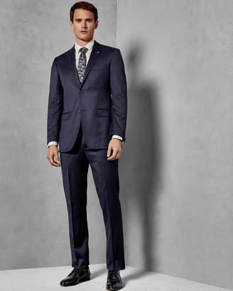 5f91be690d19 Ted Baker ARCREGT Debonair classic fit wool trousers