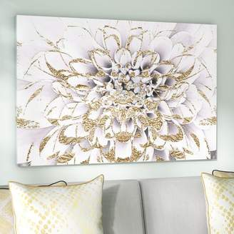 Willa Arlo Interiors 'Floralia Blanc Floral and Botanical Art' Wrapped Canvas Print