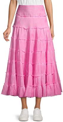 Free People Stuck In The Moment A-Line Skirt