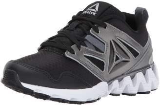 Reebok Baby Zigkick 2K17 Sneaker, Black/Pewter/Alloy/White, Child US Toddler