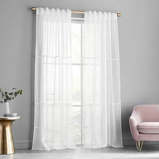 west elm Panel Pieced Curtain