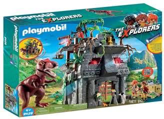 Playmobil UK Boys Hidden Temple With T-Rex