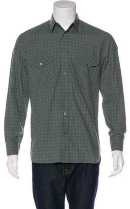 Billy Reid Woven Pocketed Shirt