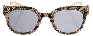 Maison Margiela Mykita + Transfer Stainless Steel Sunglasses