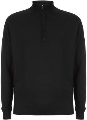 John Smedley Easy Fit Merino Zip Neck Sweater