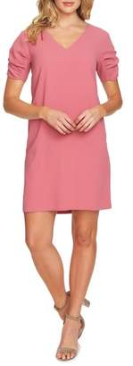 CeCe Puff Sleeve Shift Dress