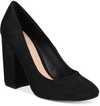 Call It Spring Agrawilia Block-Heel Pumps Women's Shoes $59 thestylecure.com