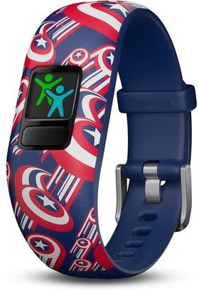 Garmin vivofit jr. 2 Adjustable Activity Tracker - Marvel Captain America
