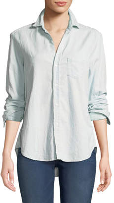 Frank And Eileen Eileen Long-Sleeve Button-Down Cotton Shirt
