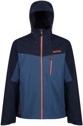 Regatta Mens Birchdale Waterproof Hooded Jacket (5XL)