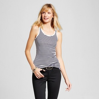 Merona Women's Striped Favorite Tank $8 thestylecure.com