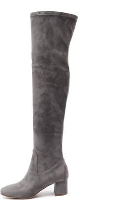Django & Juliette Ripper Black Boots Womens Shoes Casual Long Boots