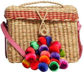 Nannacay Small Pom Pom Roge Shoulder Bag
