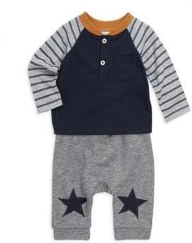 Baby's Two-Piece Tee & Pants Set