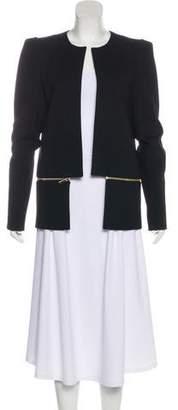 Thomas Wylde Paneled Knee-Length Coat