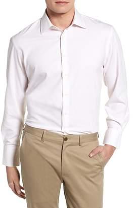 Nordstrom Tech-Smart Traditional Fit Stretch Tattersall Dress Shirt