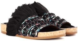 Chloé Embellished slip-on sandals