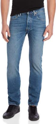 Levi's 501 Original Stretch Straight Jeans