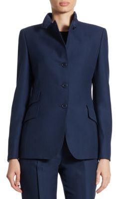 Akris punto Wool Suit Jacket $1,490 thestylecure.com
