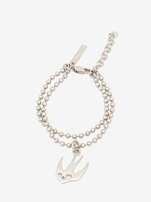 McQ Ball Chain Swallow Bracelet
