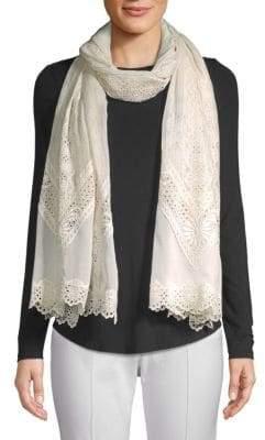 Valentino Crochet Lace Scarf