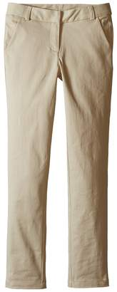 Nautica Straight Leg Stretch Twill Pants Girl's Casual Pants