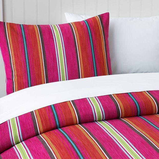 Sayulita Stripe Duvet Cover & Sham