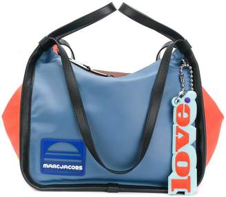 Marc Jacobs colour-block sport tote bag