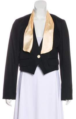Marc by Marc Jacobs Cropped Blazer Button-Up