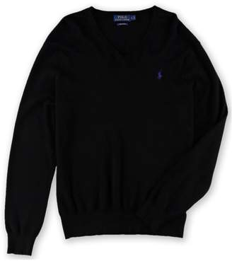 Polo Ralph Lauren Mens Pima Cotton V-Neck Sweater