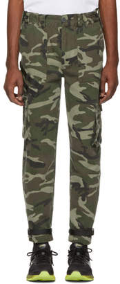 Stolen Girlfriends Club Multicolor Camo Barry Battler Cargo Trousers