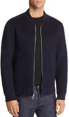 Theory Jorge Tokyo Double-Faced Felted Cashmere Bomber Jacket