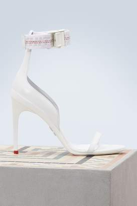 Off-White Industrial strap sandals