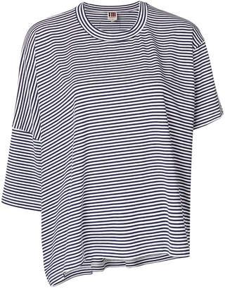 I'M Isola Marras striped asymmetric T-shirt