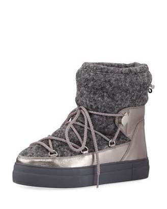 Moncler Ynnaf Wool & Leather Snow Boot $520 thestylecure.com