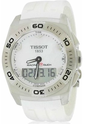 Tissot Men's Racing Touch White Rubber Watch