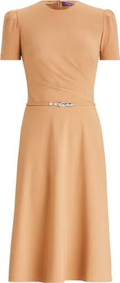 Ralph Lauren Eldridge Belted Wool Dress