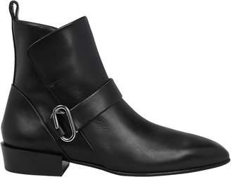3.1 Phillip Lim Alix Heeled Leather Booties