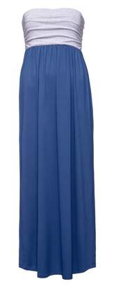 Glamour Empire. Womens Maxi Dress Strapless Flared Skirt with Empire Waist. 268 (