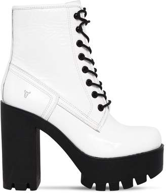 Windsor Smith 120mm Eline Patent Leather Boots