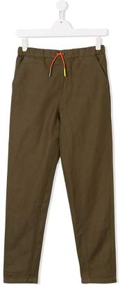 Burberry TEEN drawstring waist chinos