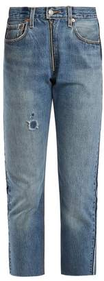 Levi's RE/DONE ORIGINALS X high-rise straight-leg cropped jeans