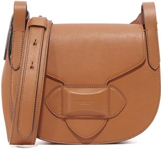 Michael Kors Collection Daria Small Cross Body Saddle Bag $790 thestylecure.com