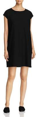 Eileen Fisher Cap Sleeve Shift Dress