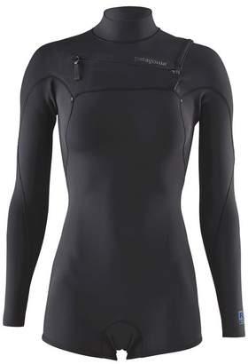 Patagonia Women's R1® Lite Yulex® Front-Zip Long-Sleeved Spring Suit