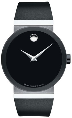 Movado Sapphire Synergy Rubber Strap Watch, 42Mm $1,495 thestylecure.com